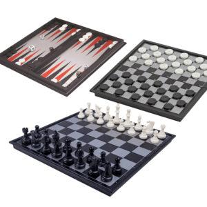 Магнитен шах 3 в 1 : шах, табла, пулове | Подаръци за мъже | Подарък за рожден ден, онлайн магазин за подаръци | Podaraci24.com