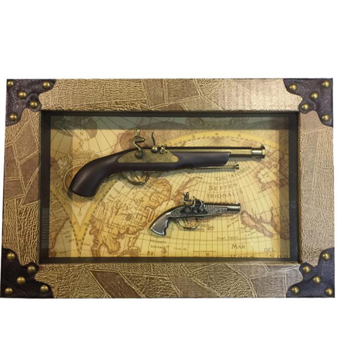 Декоративна картина Оръжия | Подходящподарък за мъж,подарък за ловец, подарък за нов дом, подарък за рожден ден